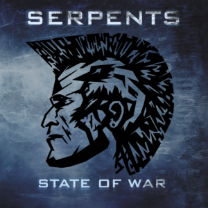 Serpents 'State of War' cover artwork.